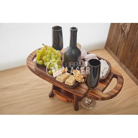 Wine table design