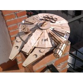 Millenium Falcon Diseño