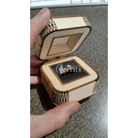 Wedding ring box design