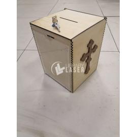 Caja de donación diseño