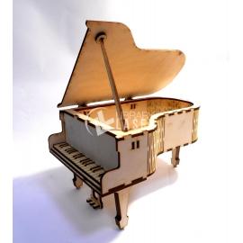 Caja piano diseño