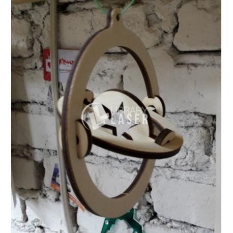 Christmas gyroscope design