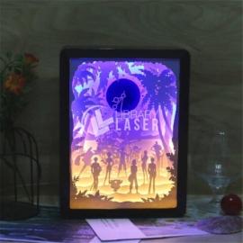 Lámpara led 3d diseño