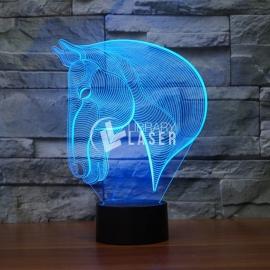 Led caballo diseño