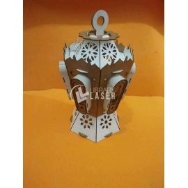 Linterna Radamán diseño