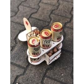 Porta cervezas diseño