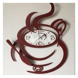Coffee cup clock design