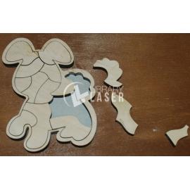 Puppy puzzle design