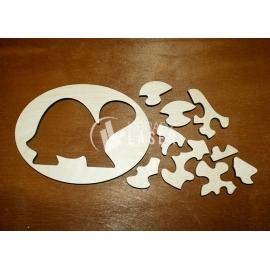 Turtle puzzle design