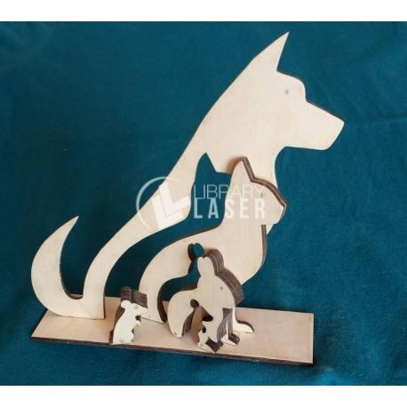 Dog puzzle design