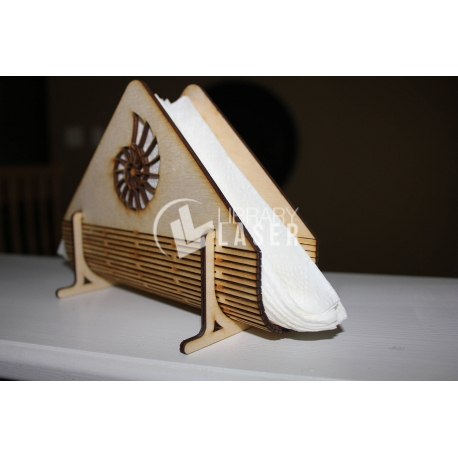 Napkin holder design
