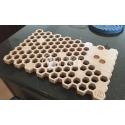 Honeycomb hot pot holder design