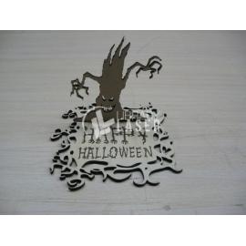 Tarjeta de halloween diseño
