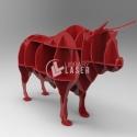 Toro 3d diseño