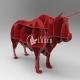 3d bull design