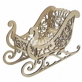 Wooden sled design