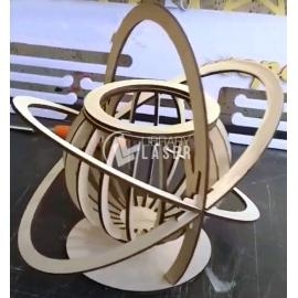 Atomic basket Files Laser Cut