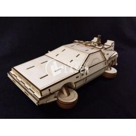 DeLorean DMC-12 Corte Laser