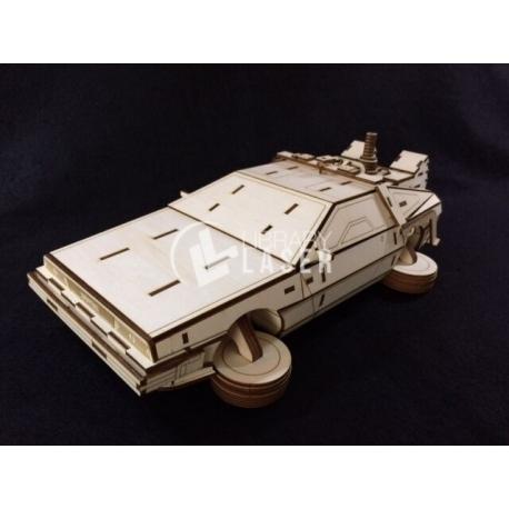 DeLorean DMC-12 for Laser Cutting