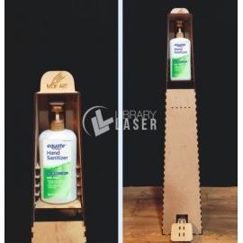Antibacterial gel dispenser design