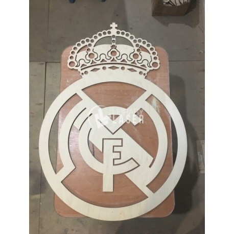 Real Madrid logo for Laser Cutting