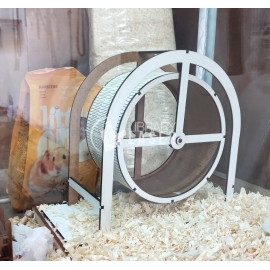 Hamster wheel for Laser Cutting