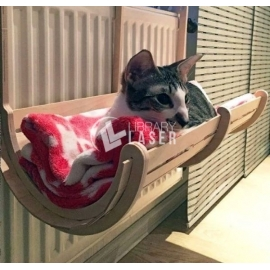 Cat bed for Laser Cutting