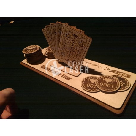 Poker cards for Laser Cutting