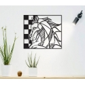 Horse painting for Laser Cutting