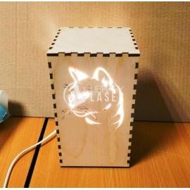 Lámpara gato para Corte Laser
