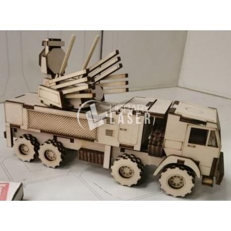Vehículo de defensa aérea