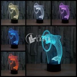 Grabado delfin Diseño
