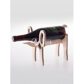 Elephant shaped bottle holder for Laser Cutting
