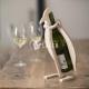 Penguin shaped bottle holder for Laser Cutting