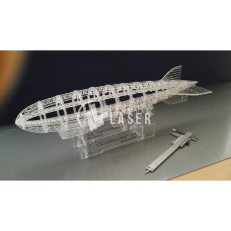 Zeppelin for Laser Cutting