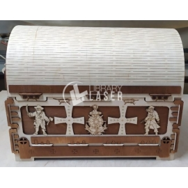 Treasure chest for Laser Cutting