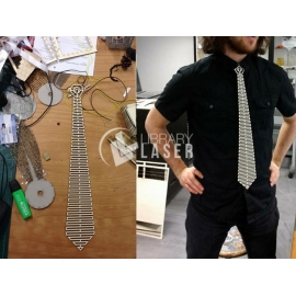 Tie for Laser Cutting