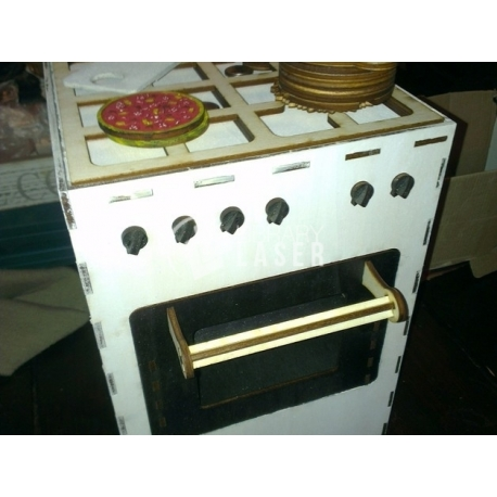 Cooking stove for Laser Cutting