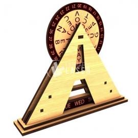 Calendario Pirámide Diseño