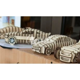 Vehicles 3d for Laser Cutting