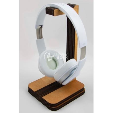 Porta audifonos para Corte Laser