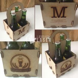Caja de cerveza para Corte Laser
