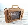 Alcancia maleta de viaje para Corte Laser