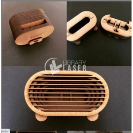 Cell phone speaker for Laser Cutting