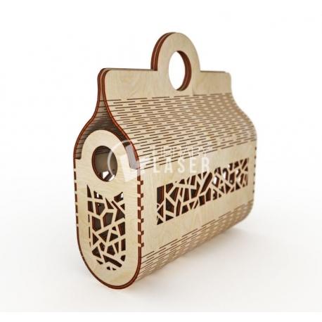 Handbag for Laser Cutting