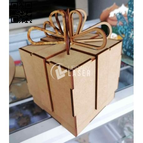 Caja regalo para Corte Laser