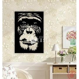 Gorilla face for Laser Cutting