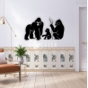 Familia de monos para Corte Laser