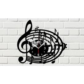 Reloj musica Diseño