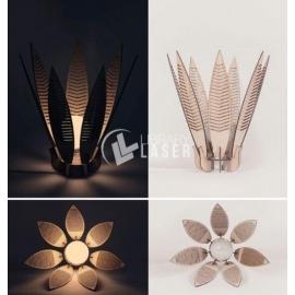 Diseño Candelabro flor
